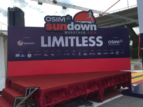 I am Limitless Sundown Marathon 2016 #sundownmarathon2016