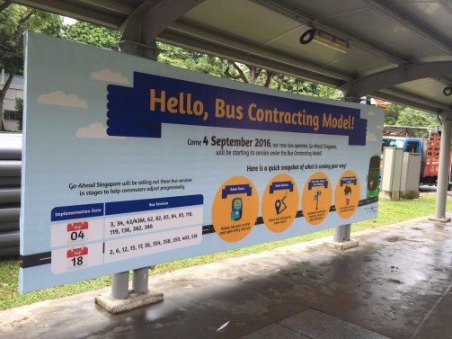 Land Transport Authority Isand-wide Bus Campaign