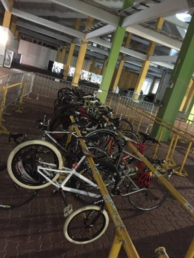 Valet Service for Cyclists