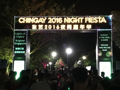 Light-up for Chingay Night Fiesta