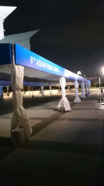 Tentage branding by Allmaster #aseanparagames2015