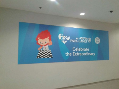 wall sticker #aseanparagames2015