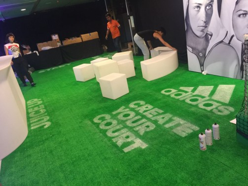 Adidas Create Your Court Event
