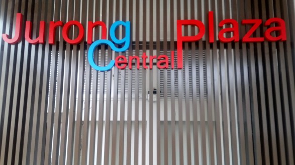 Jurong Central Plaza Building Sign