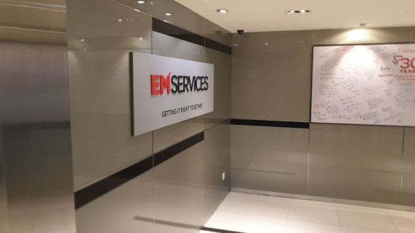 Office Entrance Signage